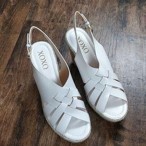 XOXO 9M Lazaro Platform Wedge Sandals